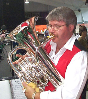 Dennis Kindred, Euphonium, Valve Trombone, Business Manager