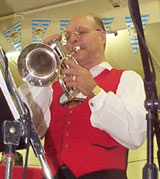 Tom Bruce, Trumpet & Sound Technician